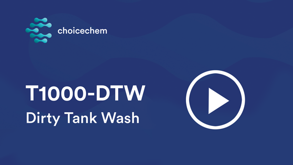 T1000-DTW tank cleaning video